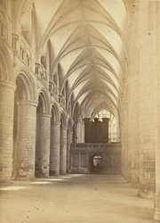Gloucester Cathedral, Nave, Looking East